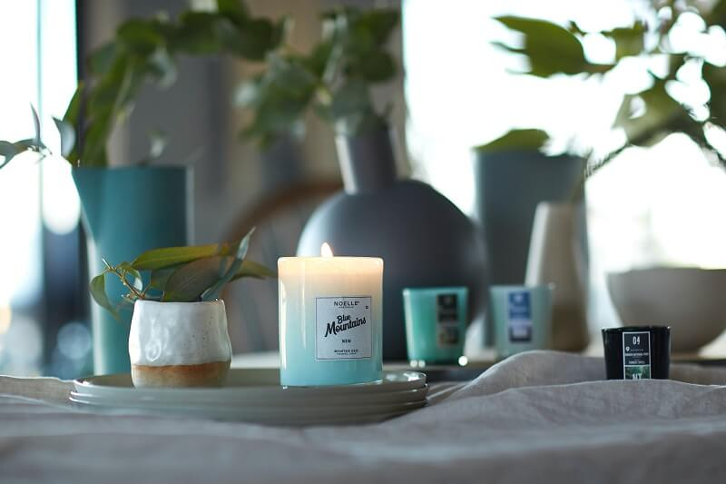 citrus scented candles