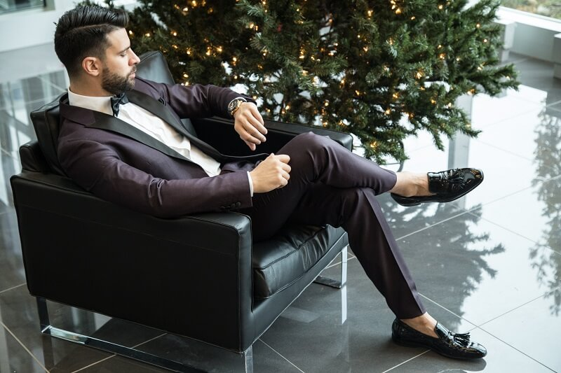 Fun and festive Christmas suit